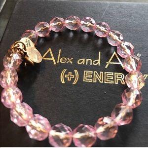 • Alex and Ani Vintage 66 Pink Wrap Bracelet •
